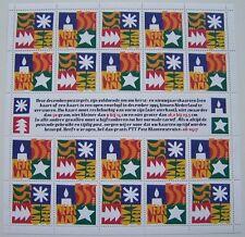 Ned. 1994 - Vel Decemberzegels postfris
