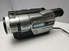 New ListingSony Digital Handycam Dcr-Tr7000 Digital-8 Camcorder Video Camera Recorder Nice
