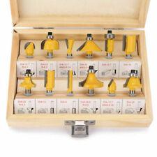 Fräsersatz HM 12 tgl Schaft 6 mm Nutfräser Profilfräser für Oberfräse Holzfräser