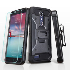 Shockproof Case w/Stand Cover+Holster for ZTE Max Duo LTE Imperial Max Z963VL