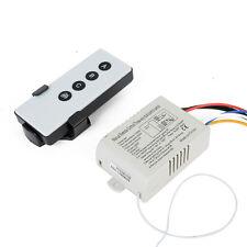 220V Drahtlose 3-Wege Wireless Funk Wandschalter Lichtschalter mit Fernbedienung