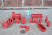Marx Dairy Farm Playset Accessories 1/32 54MM Toy Set