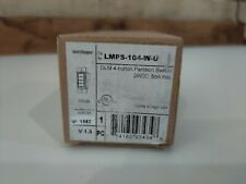 New Wattstopper Legrand Lmps 104 W U Dlm 4 Button Partition Wall Switch White