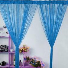 2018 String Curtains Patio Net Fringe Panel Door Windows Divider Home Decor