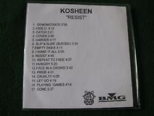 KOSHEEN.. Resist  (17 Track CDR Promo Album)