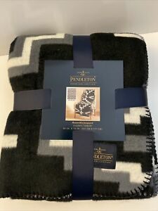 NEW Pendleton Home Collection Reversible Jacquard Classic Throw Blanket Otero