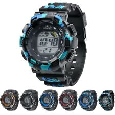 Digital LED Waterproof Sports Wrist Watch For Men Women Kids Boys Girls Watches