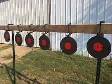 NEW! 6pc 2 X 4  AR500 T-POST TARGET HANGERS KIT  W/2 FREE 3/16 X 6 3/16 Target