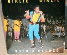 SOPHIA GEORGE GIRLIE GIRLIE / GIRL RUSH WIN/TO1 1985 JET STAR RECORDS