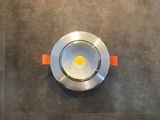 24 Volt design LED Spot Einbaustrahler dimmbar 7 Watt, silber für z.B. Loxone