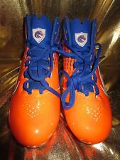 Boise State Broncos Nike Alpha Speed TD Football Shoes Cleats Mens 9 NEW