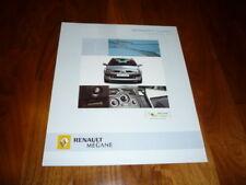 Renault Megane SPORTWAY Prospekt 03/2005 Tschechien