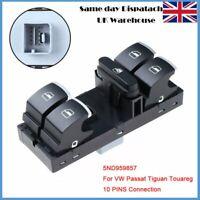 5ND959857 Window Control Switch Panel For VW Passat CC MK5 Tiguan Touareg