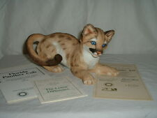 Lenox Endangered Baby Animals Florida Panther Cub Porcelain Figurine MIB w/COA