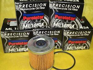 5pz filtro olio Purolator Kawasaki KLR KL 250 1978-1992