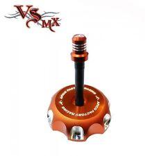 Apico Anodised Fuel Cap inc Vent Pipe KTM EXC300 00-07 ORANGE