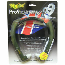 Napier Pro 9 Ear Defenders Hearing Protection 2016 Model Noise Reduction