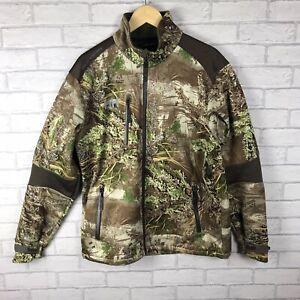 Helly Hansen RealTree Max-1 Soft Shell Workwear Jacket Mens Size L VGC