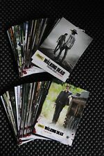 THE WALKING DEAD SEASON FOUR PART ONE BASE SET TRADING CARDS WITH BOX