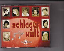 Schlager Kult,, Shop24Direct 4 CDs Box-Set,, R. Kaiser, J. Werding, Rex Gildo