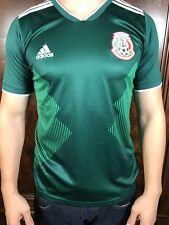 Mens Medium Mexico Soccer Jersey Adidas Sports Fitness Climacool Shirt Dri Fit