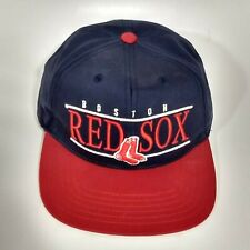 American Needle Cooperstown Boston Red Sox Snapback Hat Cap Navy Red