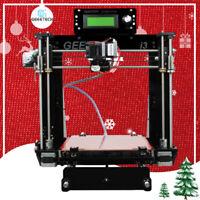 Free shipping Imprimante 3D acrylique Geeetech Reprap Prusa I3 Pro B MK8 LCD2004