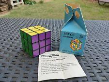 Ulra Rare Vintage Rubik's Cube Painted Printed version