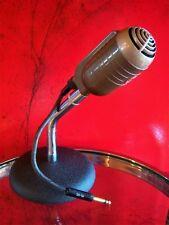 Vintage 1950's RCA Type MI-6206-E Aero Pressure microphone old w Atlas stand