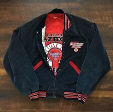 1986 Sea World Holiday Bowl Vintage DeLong NCAA Corduroy Jacket L SDSU San Diego