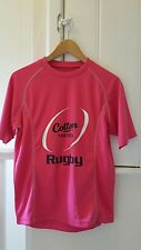 Cotton Trade Pink rugby performance sports running top. sized small