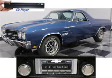 CD Player & NEW* 300 watt AM FM Stereo Radio '69-72 El Camino iPod USB Aux input