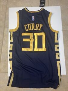 Stephen Curry Signed Warriors  Autograph  Jersey