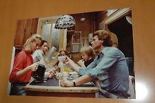 JOHNNY HALLYDAY CONSEIL DE FAMILLE 1986 VINTAGE PHOTO PRESTIGE