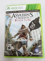 Assassin's Creed IV: Black Flag (Microsoft Xbox 360, 2013) FREE FAST SHIPPING