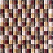 Glasmosaik Braun Beige Mix 23 Granit Fliesenspiegel Mosaik Boden Bad Fliesen