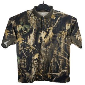 Columbia PHG Mens Large Camo Vented Hunting Shooting Shirt Performance Hunting