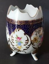 Beautiful Roselle OCC & Co Staffordshire Three-footed Vase