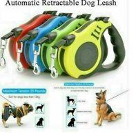Dog Leash Automatic Retractable Walking Collar Dog Pet 16.5 Ft - 33 lbs