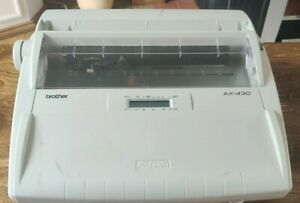 BROTHER AX-430 Electric Typewriter Word Processor | Tested & Working