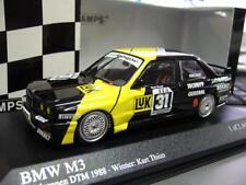 BMW M3 E30 DTM MK-Motorsport Eifelrennen #31 Thiim 1988 Minichamps RAR 1:43