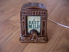 Vintage Whitbread Brewery Best Mild Illuminated Bar Top Pump Sign Beer Light