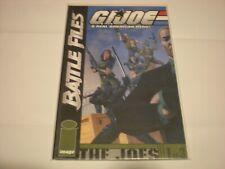 G.I. Joe: Battle Files #1 (2002) Image Comics Vf/Nm