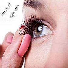 2 Pairs Magnetic Eyelashes 3D Reusable False Magnet Eye Natural Lashes Extension