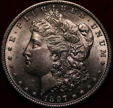 Uncirculated 1897-S San Francisco Mint Silver Morgan Dollar