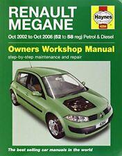 Renault Megane Service and Repair Manual (Haynes Service and Repair Manuals),