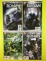 Annihilation Ronan 1-4, 1st Printing Marvel NM 9.4