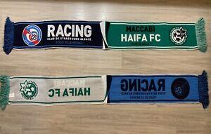 Echarpe Racing Club De Strasbourg Alsace - Maccabi Haïfa FC europa League Scarf