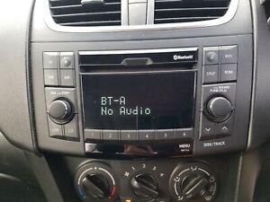 SUZUKI SWIFT FZ, 02/2011- 6/2017 Genuine Radio / CD Player With Bluetooth Type