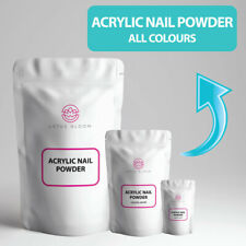 Acrylic Nail Powder Set Kit VARIOUS SIZES of Clear, White, Natural Pink, & Blush